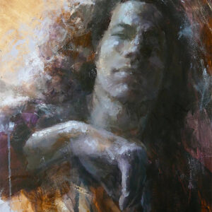 """A full portrait course in acrylic paint - """"Reconciliation"""""""